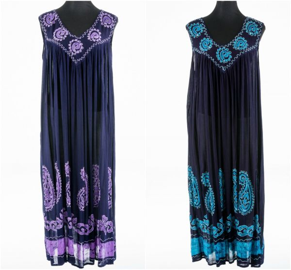 FESTIVAL-CLOTHING-Bohemian-Hippy-Boho-Sleeveless-Dress-Batik-V-Neck-Embroidery-381939642214-600x557