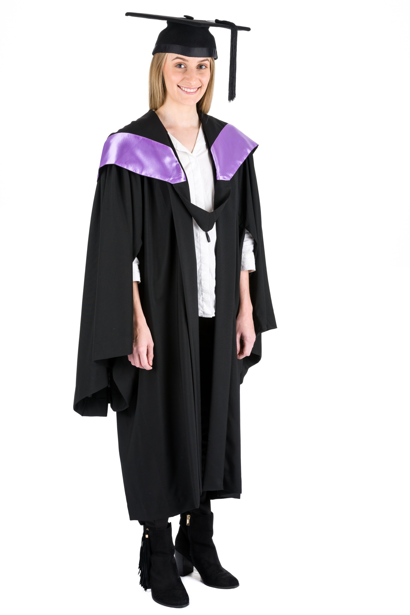 QUT Bachelor of Creative Industries Graduation Hood New Fuchsia ...
