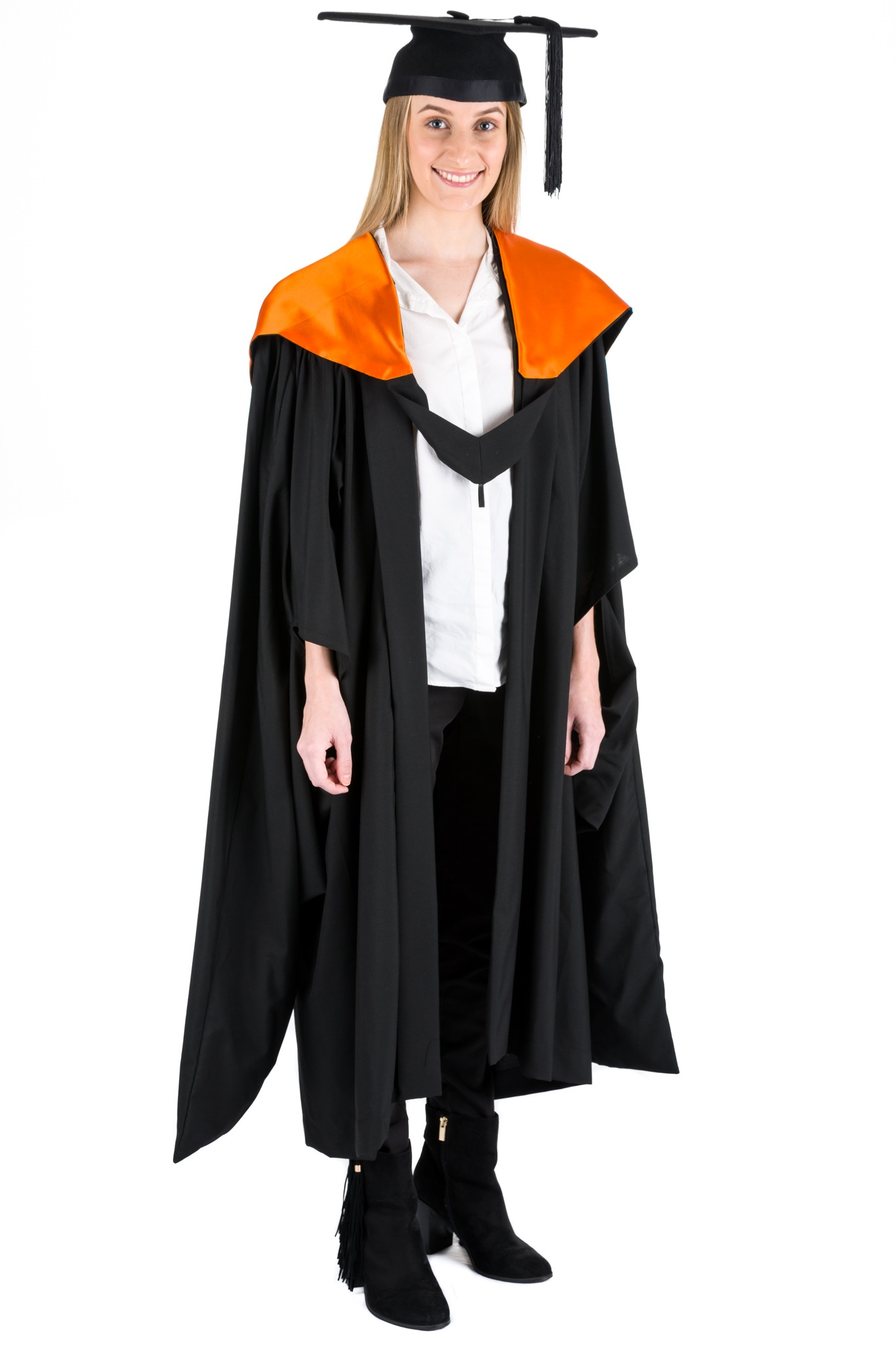 QUT Master of Health Graduation Hood Orange Academic Dress – The ...