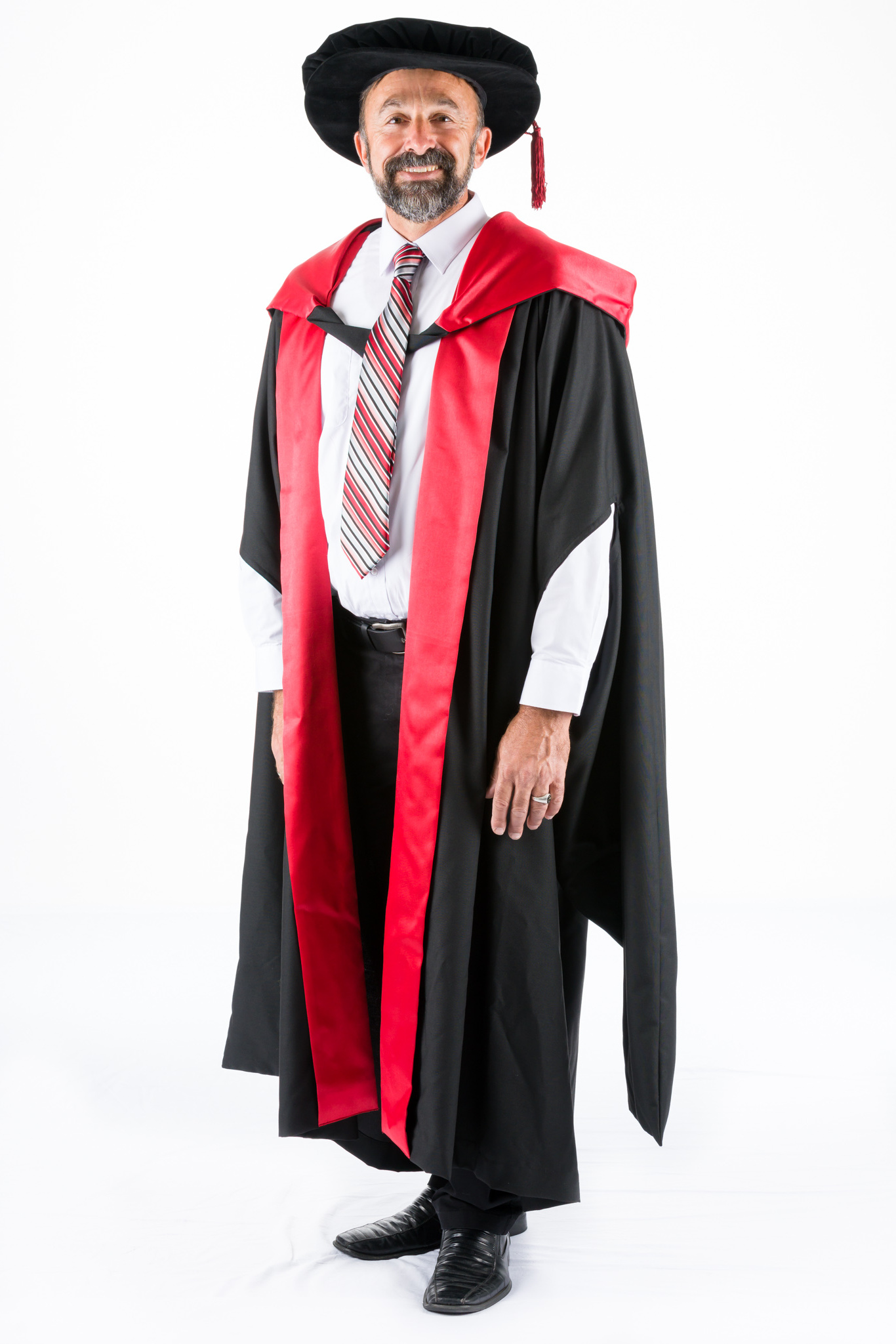 PhD Academic Dress Graduation Gown, Hood and Bonnet – The Gown Chick