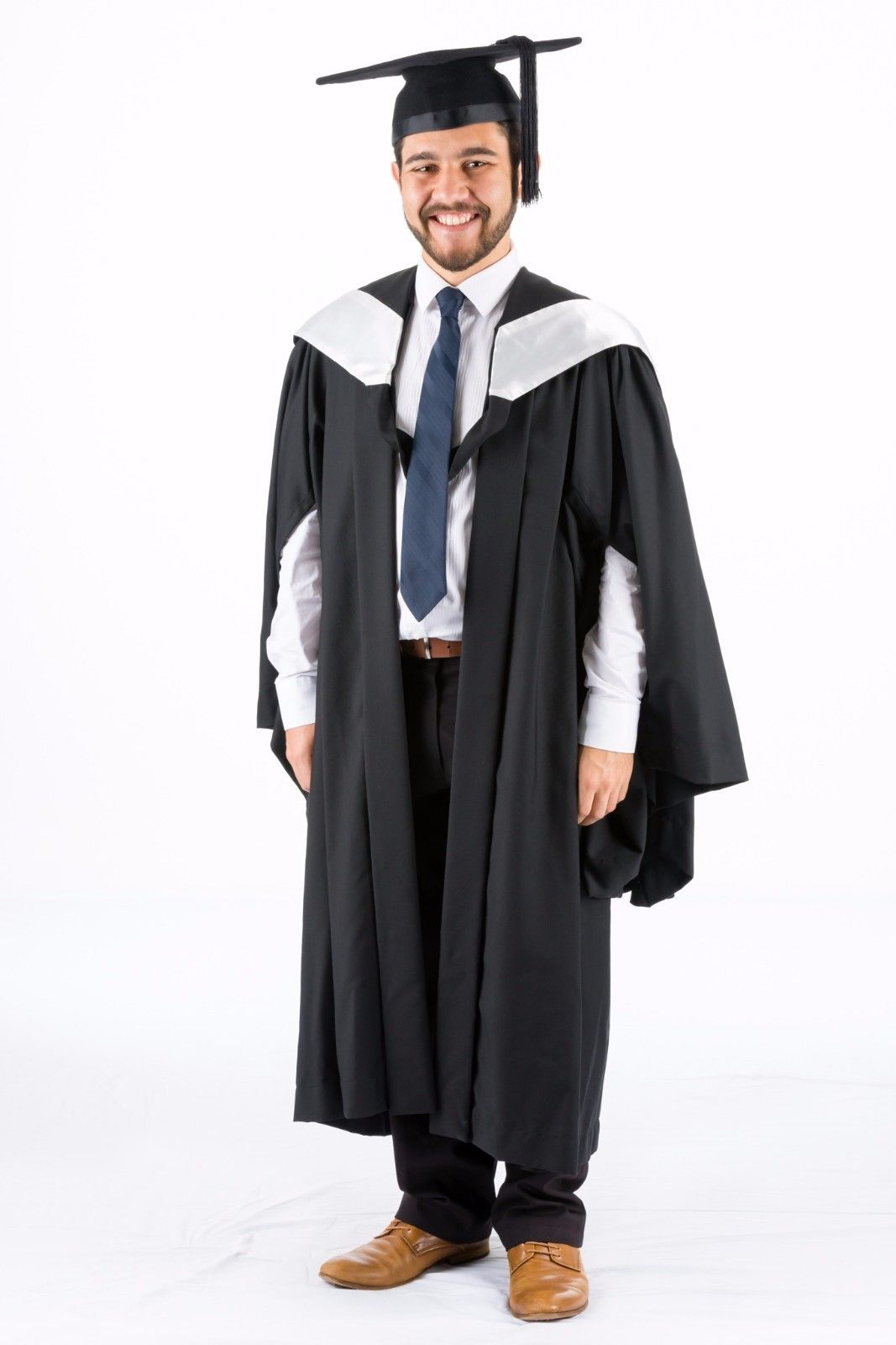 Bachelor Hood University of Queensland Pearl White Graduation ...