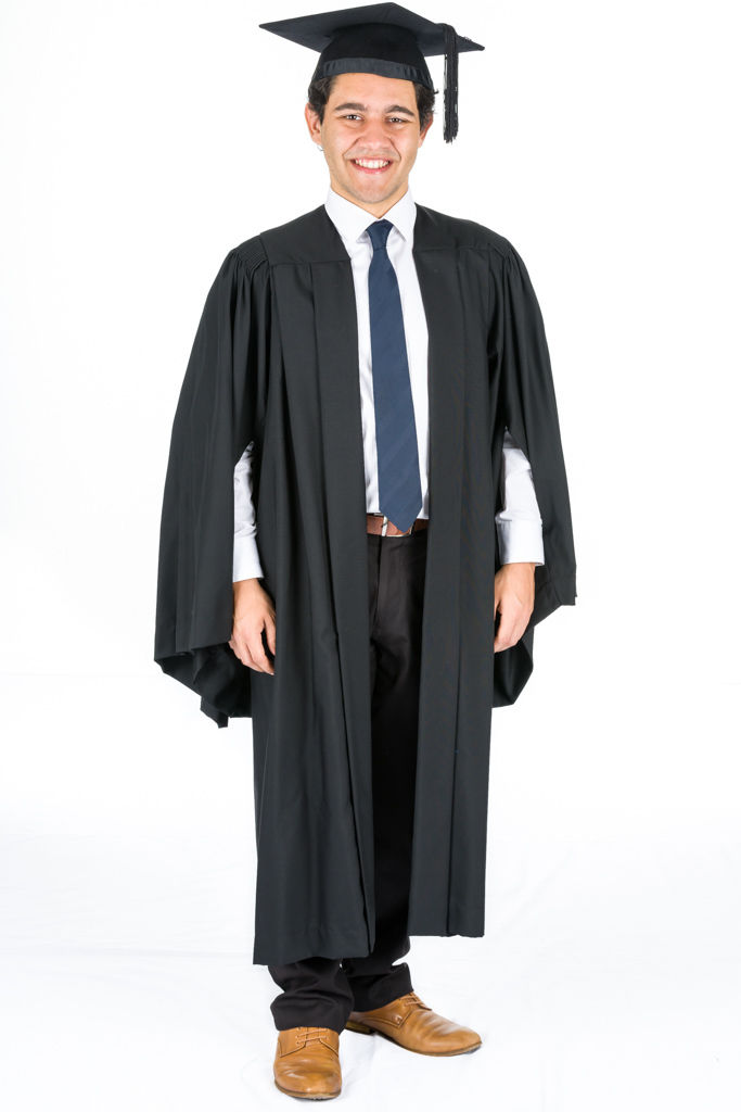 GRADUATION-ACADEMIC-GOWN-BACHELOR-CAMBRIDGE-STYLE-382198319662