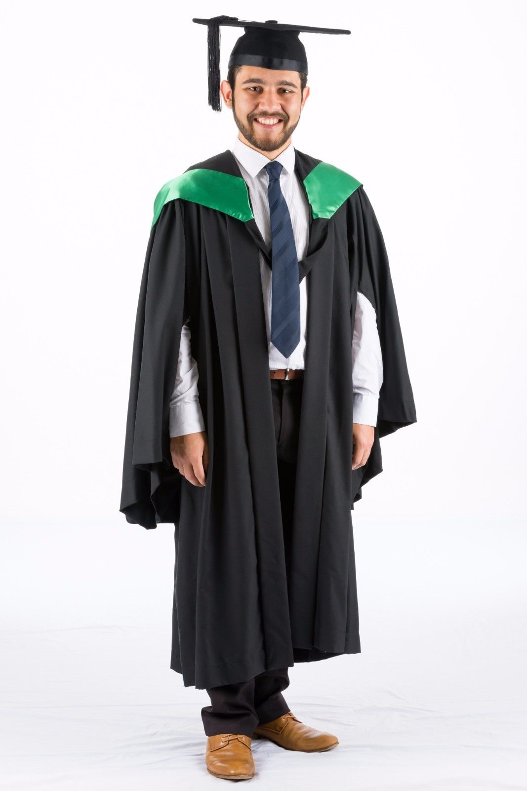 QUT Bachelor of Education Graduation Hood Green Academic Dress – The ...