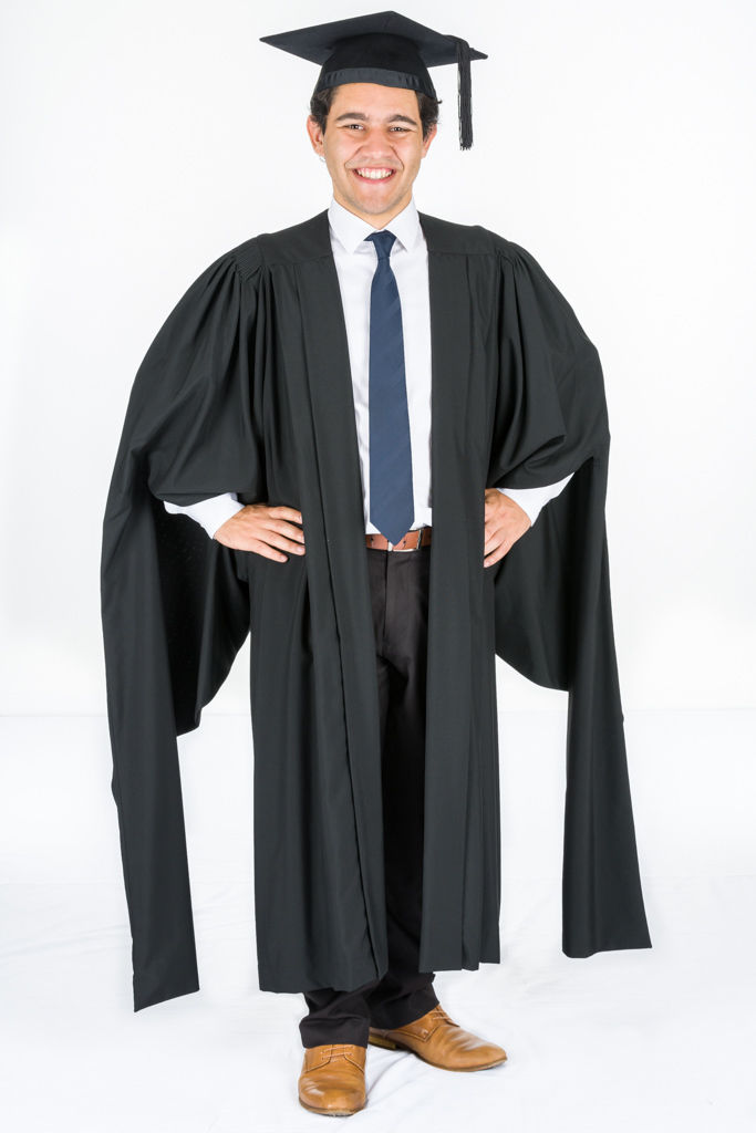 Masters Academic Gown for University Graduation – The Gown Chick