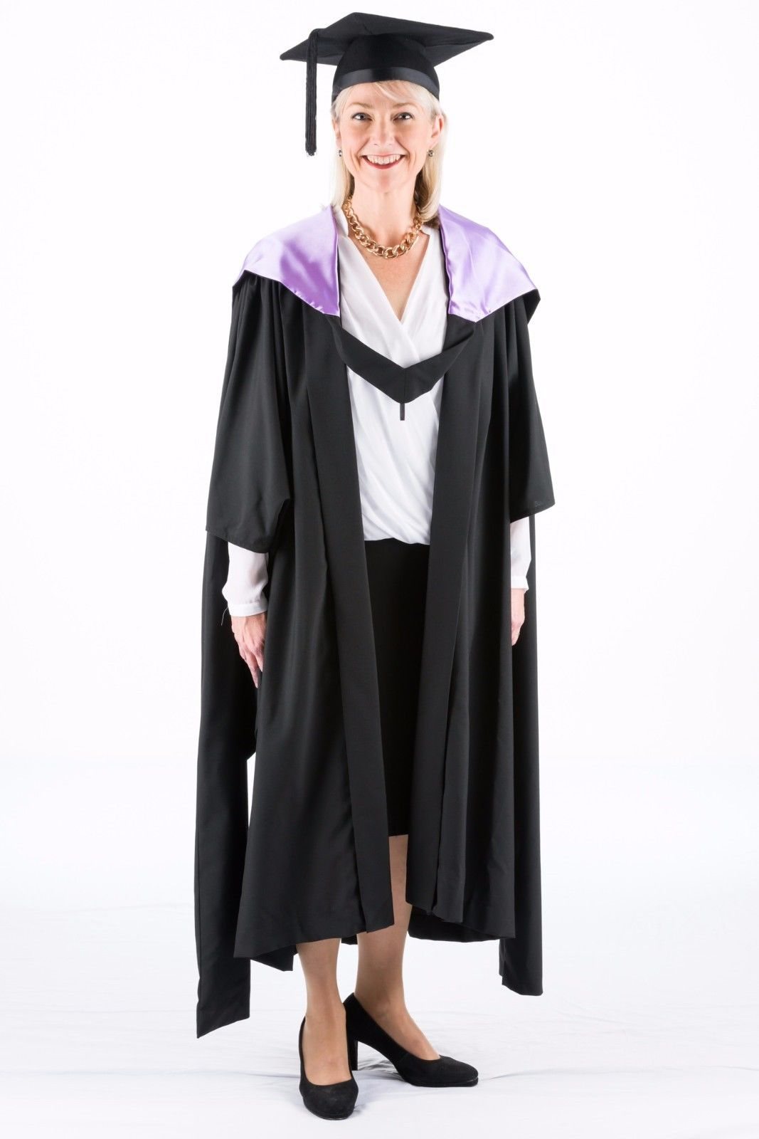 University-Academic-Hood-Graduation-Masters-Fully-Lined-with-Lilac-382202354529